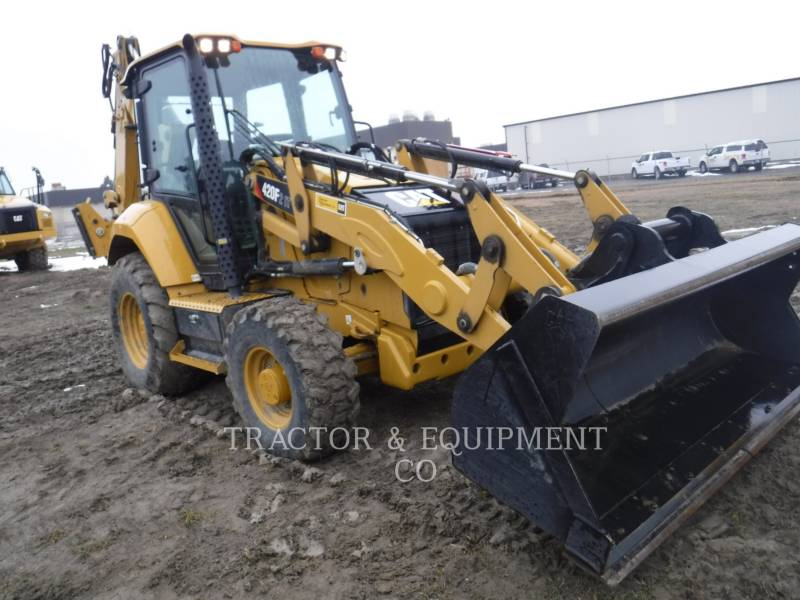 CATERPILLAR CHARGEUSES-PELLETEUSES 420F24ETCB equipment  photo 4