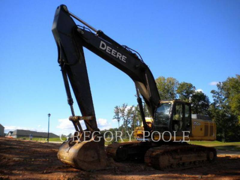 JOHN DEERE TRACK EXCAVATORS 350D LC equipment  photo 1