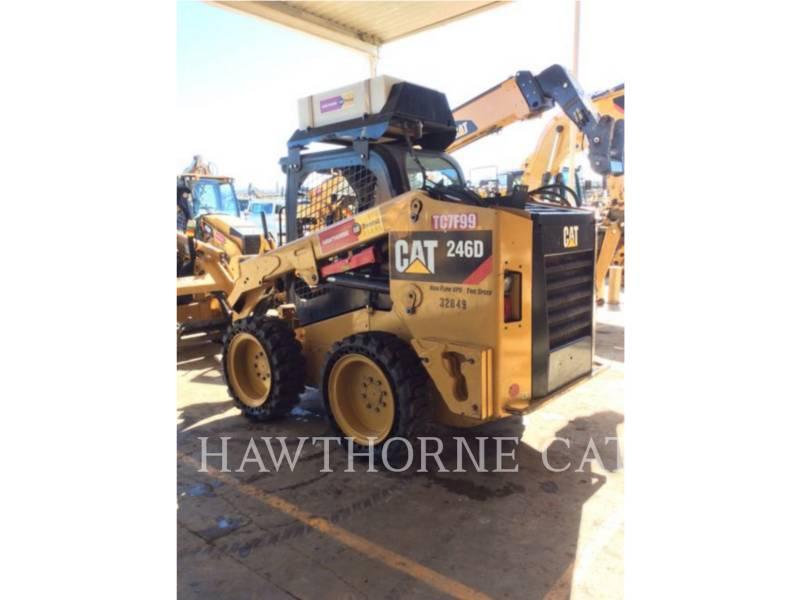 CATERPILLAR SKID STEER LOADERS 246D HF equipment  photo 2