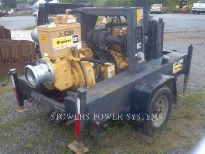SYKES PUMPS POMPE A EAU/ GP200 equipment  photo 1