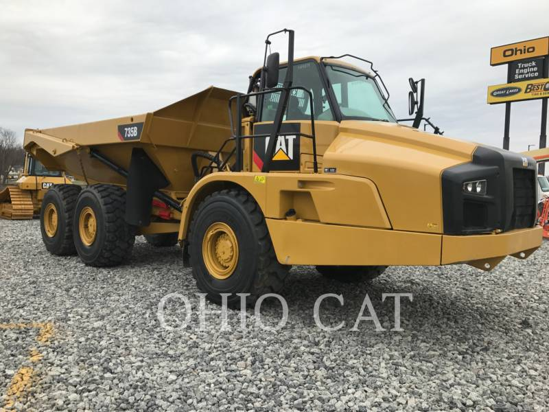CATERPILLAR ARTICULATED TRUCKS 735B equipment  photo 6