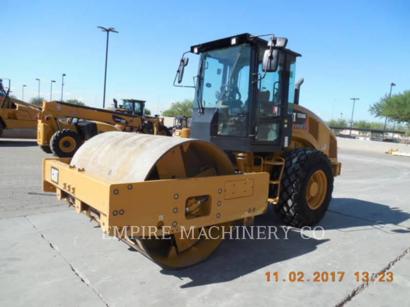 CATERPILLAR VIBRATORY SINGLE DRUM PAD CS56B CA equipment  photo 4