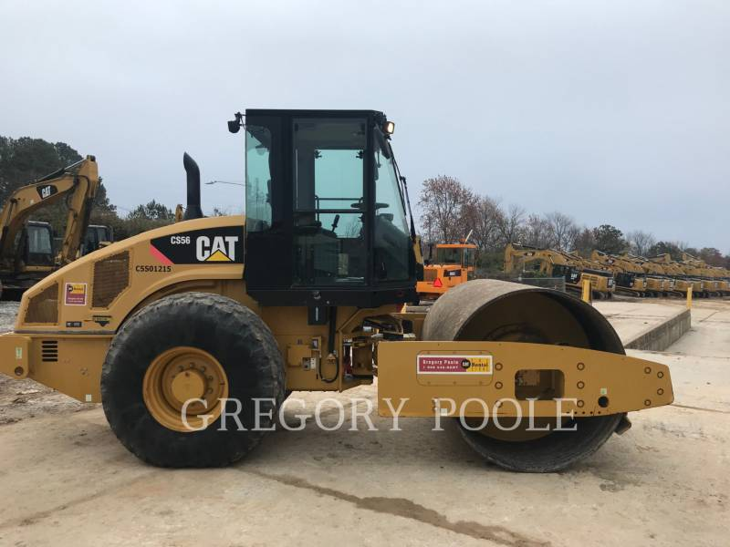 CATERPILLAR COMPACTEUR VIBRANT, MONOCYLINDRE LISSE CS56 equipment  photo 1