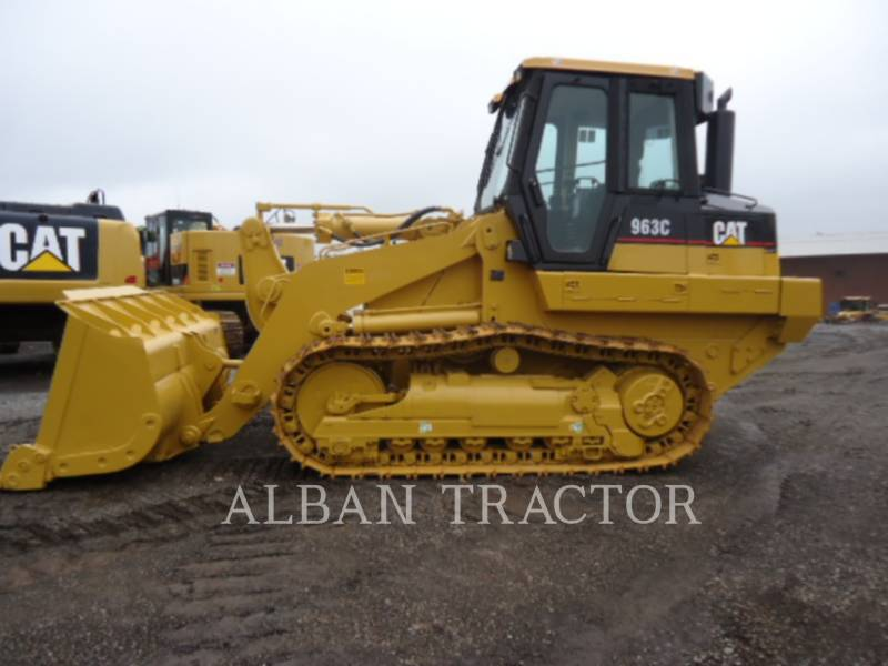 CATERPILLAR TRACK LOADERS 963C CAC equipment  photo 1