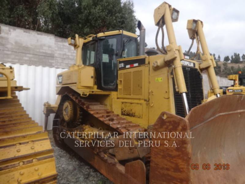 CATERPILLAR TRACK TYPE TRACTORS D7RII equipment  photo 5