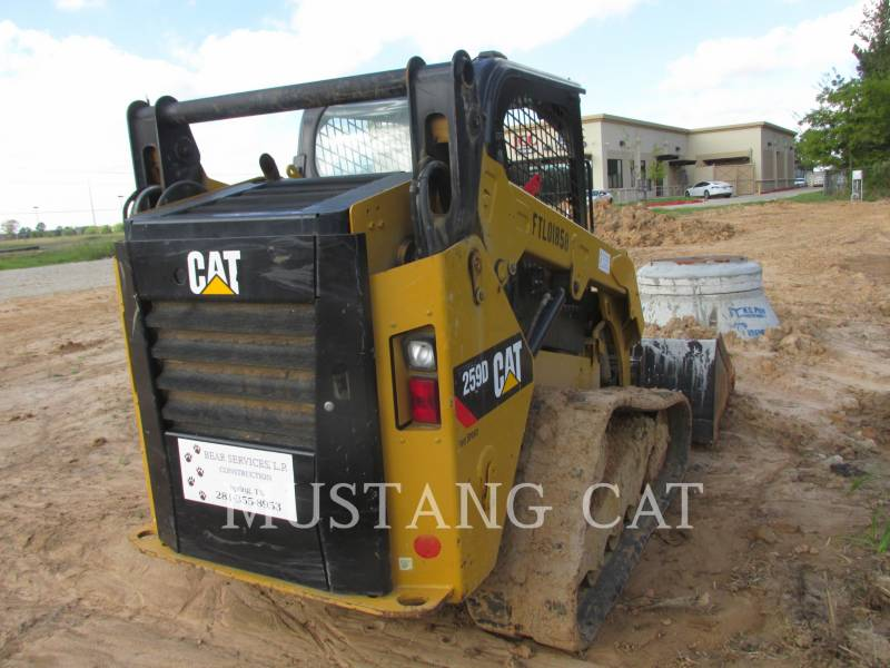 CATERPILLAR KOMPAKTLADER 259D equipment  photo 4