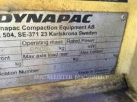 DYNAPAC VIBRATORY DOUBLE DRUM ASPHALT CC234HF equipment  photo 3