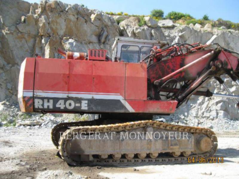 O&K PALA PARA MINERÍA / EXCAVADORA RH40 equipment  photo 7