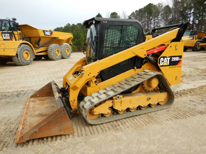 CATERPILLAR UNIWERSALNE ŁADOWARKI 299D2 equipment  photo 4