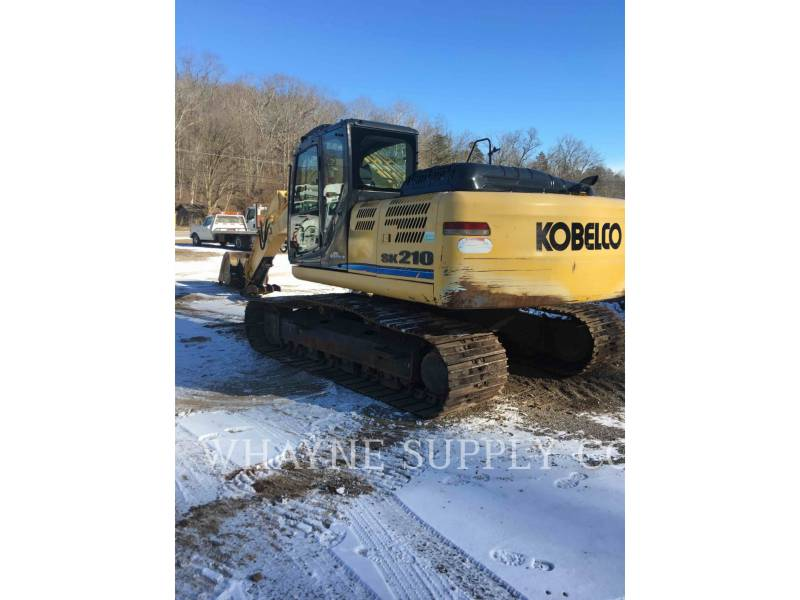 KOBELCO / KOBE STEEL LTD TRACK EXCAVATORS SK210-9 equipment  photo 3