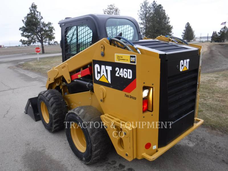 CATERPILLAR CHARGEURS COMPACTS RIGIDES 246D H2CB equipment  photo 5