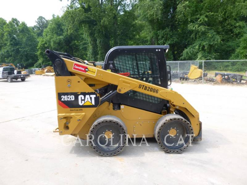 CATERPILLAR SKID STEER LOADERS 262D CB HF equipment  photo 4