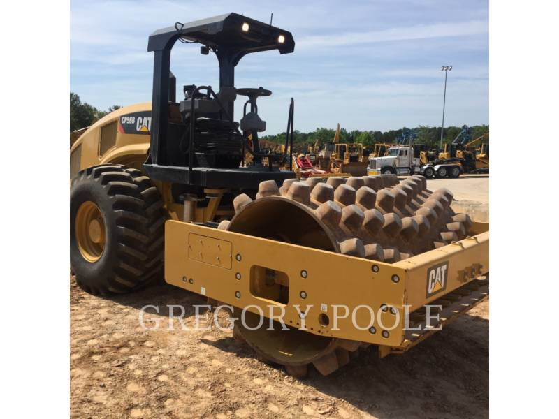 CATERPILLAR COMPACTEUR VIBRANT, MONOCYLINDRE À PIEDS DAMEURS CP 56 equipment  photo 15