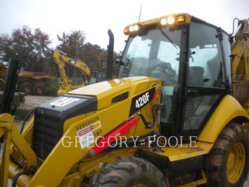CATERPILLAR BACKHOE LOADERS 420F equipment  photo 2