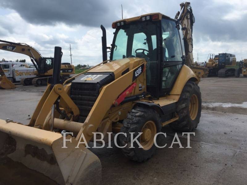 CATERPILLAR RETROESCAVADEIRAS 430F HT equipment  photo 1
