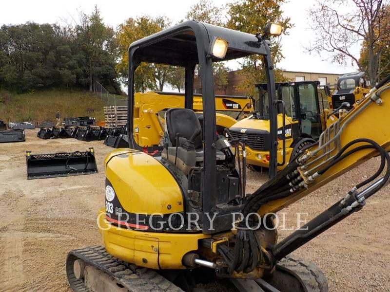 CATERPILLAR TRACK EXCAVATORS 303 CR equipment  photo 5