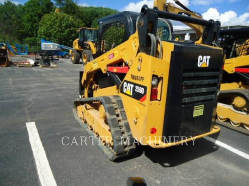 CATERPILLAR KOMPAKTLADER 259D CYN equipment  photo 4