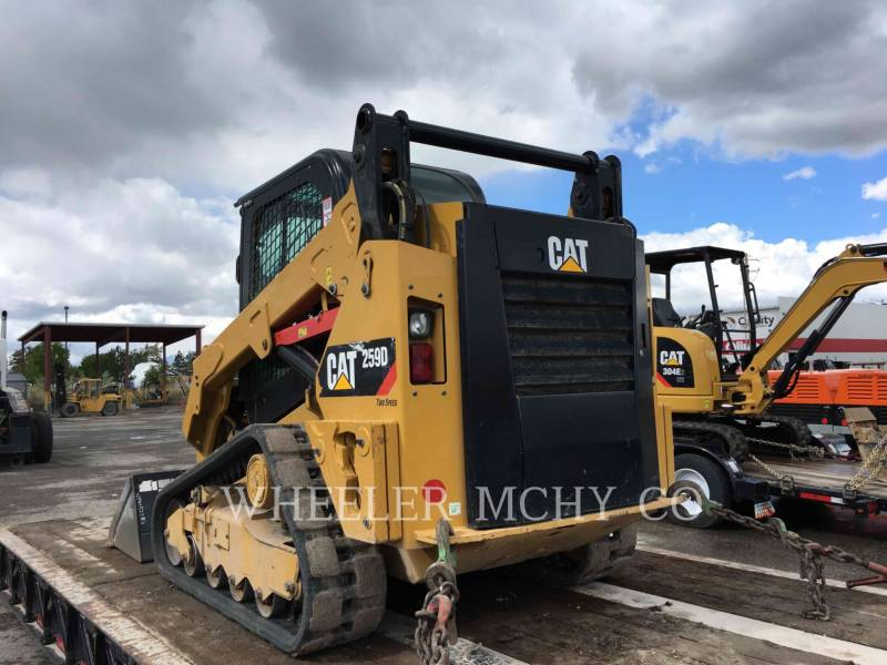 CATERPILLAR CHARGEURS TOUT TERRAIN 259D C3-H2 equipment  photo 6