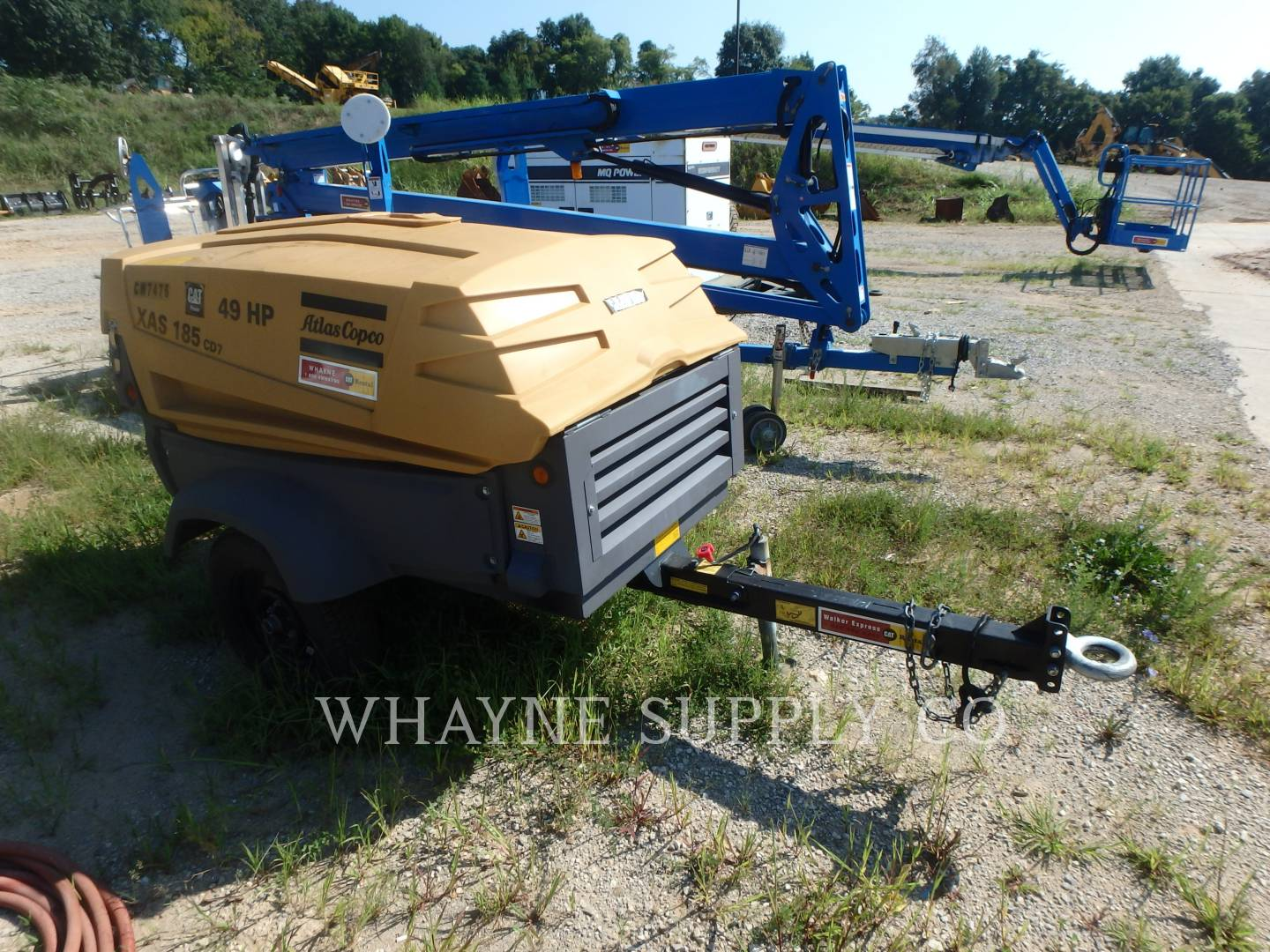 Detail photo of 2014 Atlas Copco 185CFM from Construction Equipment Guide