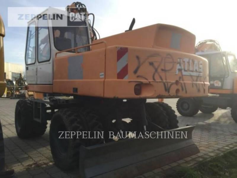 ATLAS KOPARKI KOŁOWE 1604 equipment  photo 4