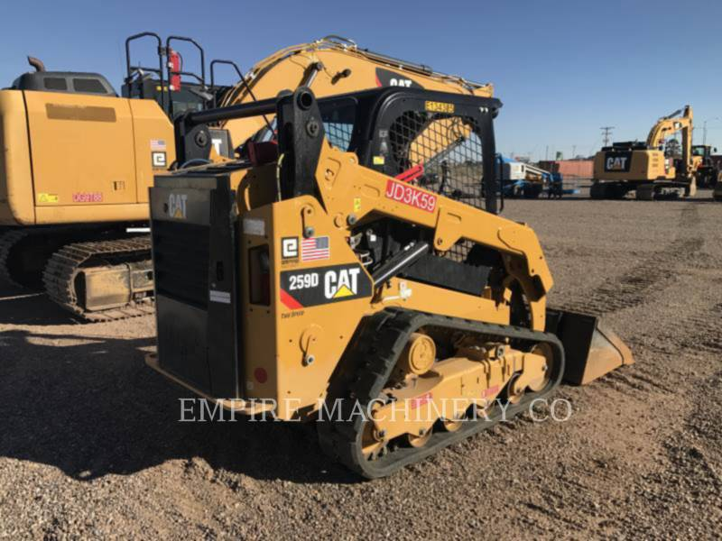 CATERPILLAR KOMPAKTLADER 259D equipment  photo 2