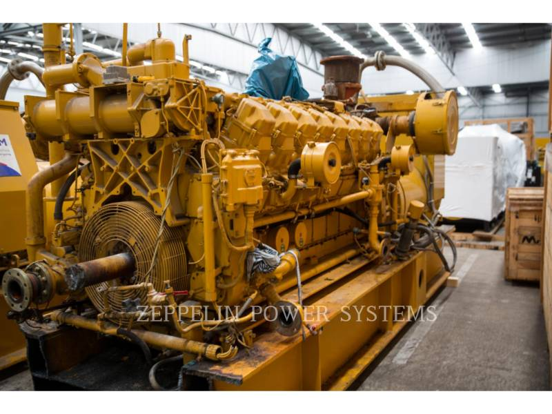 CATERPILLAR STACJONARNY — GAZ ZIEMNY G3516 ENGINE 4 PCS equipment  photo 3