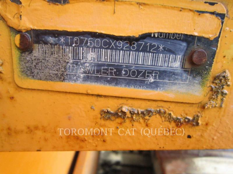 JOHN DEERE TRACTORES DE CADENAS 750CL equipment  photo 9