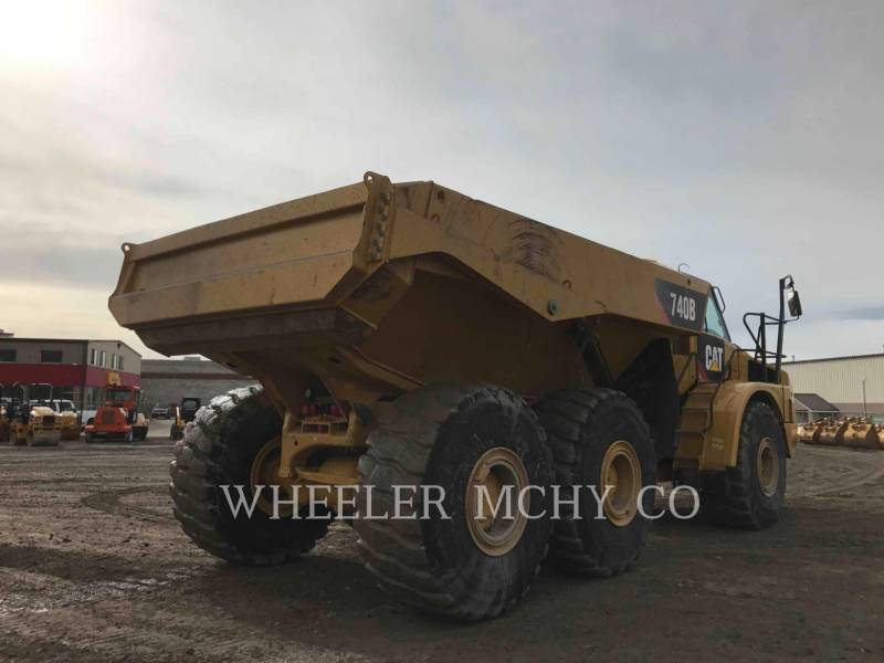 CATERPILLAR CAMIONES ARTICULADOS 740B TG equipment  photo 4