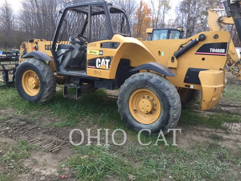 CATERPILLAR TELEHANDLER TH460B equipment  photo 12