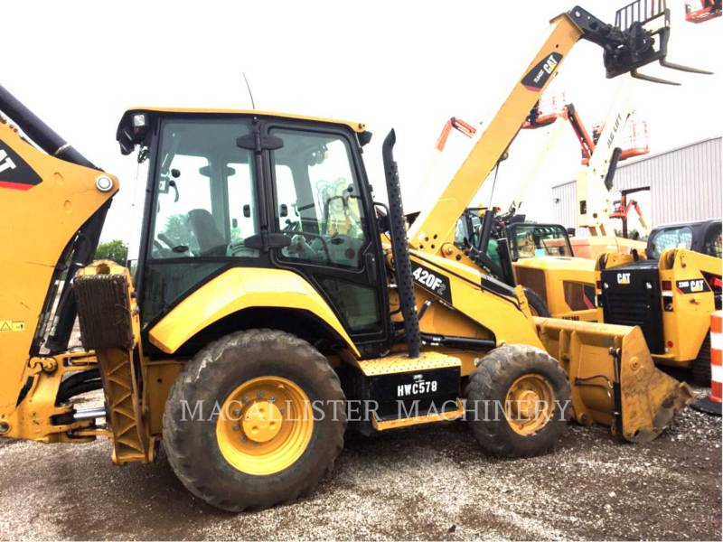 CATERPILLAR BAGGERLADER 420 F 2 equipment  photo 2