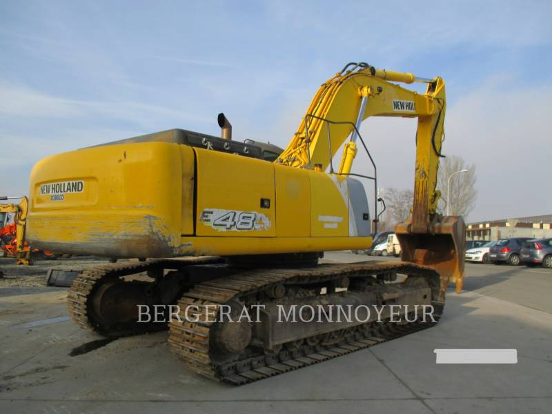 NEW HOLLAND KETTEN-HYDRAULIKBAGGER E485 equipment  photo 2