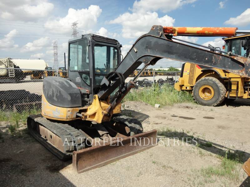 JOHN DEERE KETTEN-HYDRAULIKBAGGER 50D equipment  photo 1