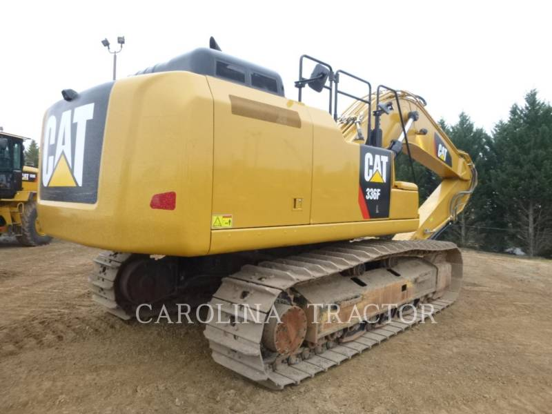 CATERPILLAR TRACK EXCAVATORS 336F QC equipment  photo 3