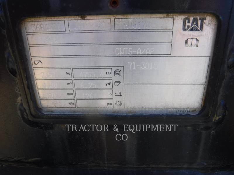 CATERPILLAR WT - BUCKET 972H equipment  photo 5