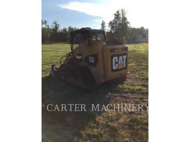 CATERPILLAR SKID STEER LOADERS 246C CYV equipment  photo 2