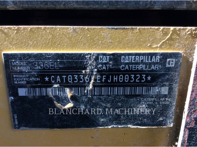 CATERPILLAR PELLES SUR CHAINES 336E equipment  photo 14