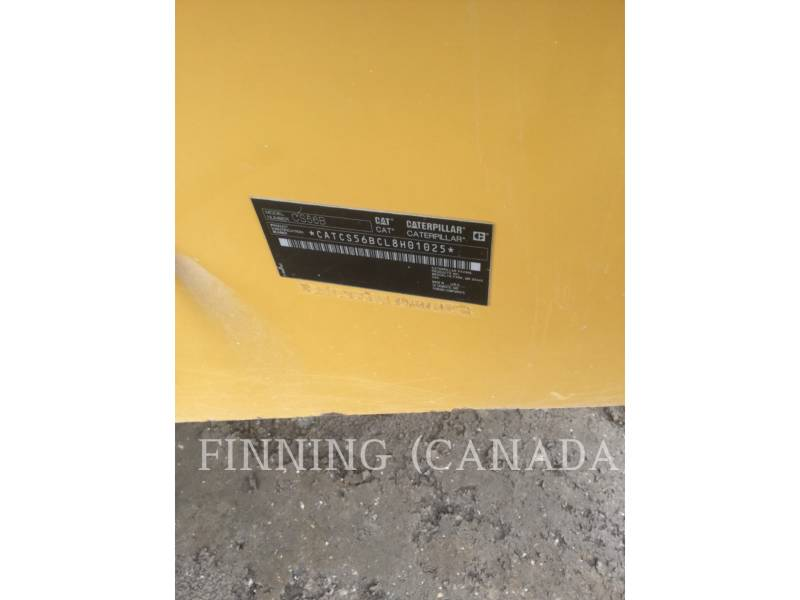 CATERPILLAR EINZELVIBRATIONSWALZE, GLATTBANDAGE CS56B equipment  photo 5