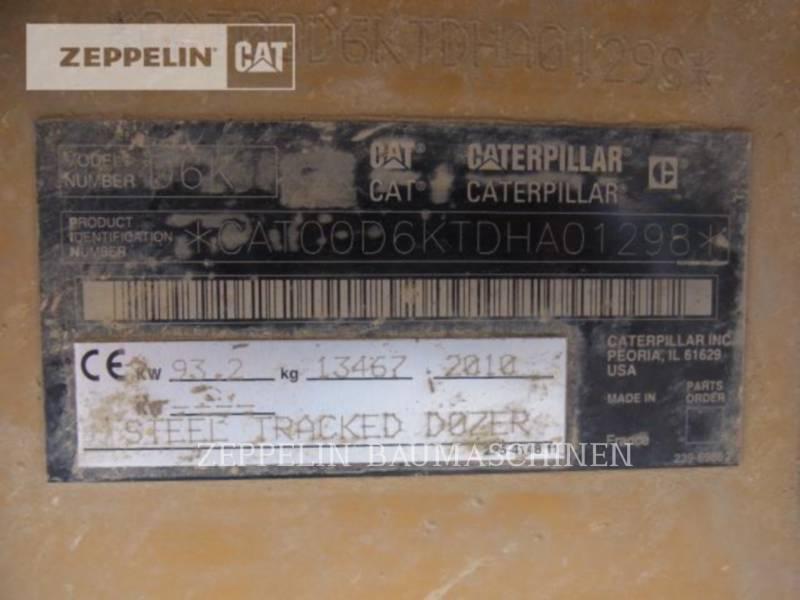 CATERPILLAR TRACK TYPE TRACTORS D6KMP equipment  photo 5
