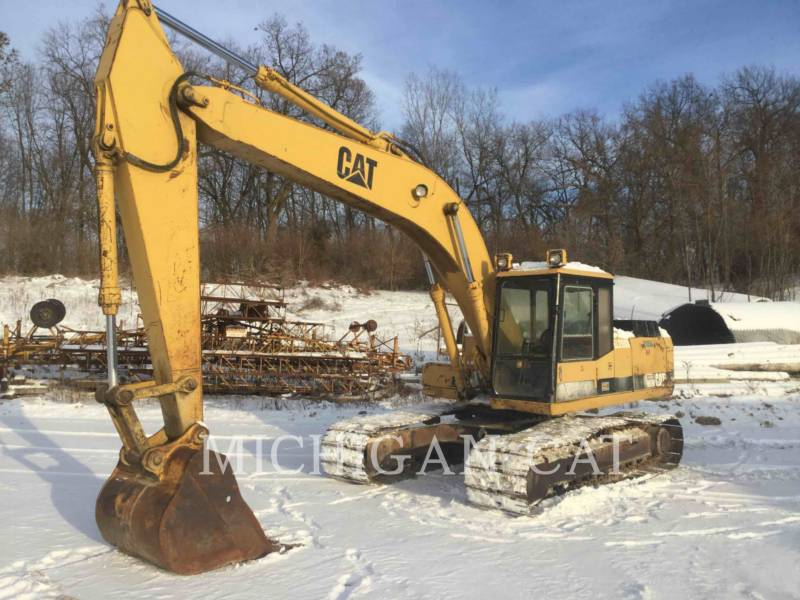 CATERPILLAR KETTEN-HYDRAULIKBAGGER E200BL equipment  photo 1