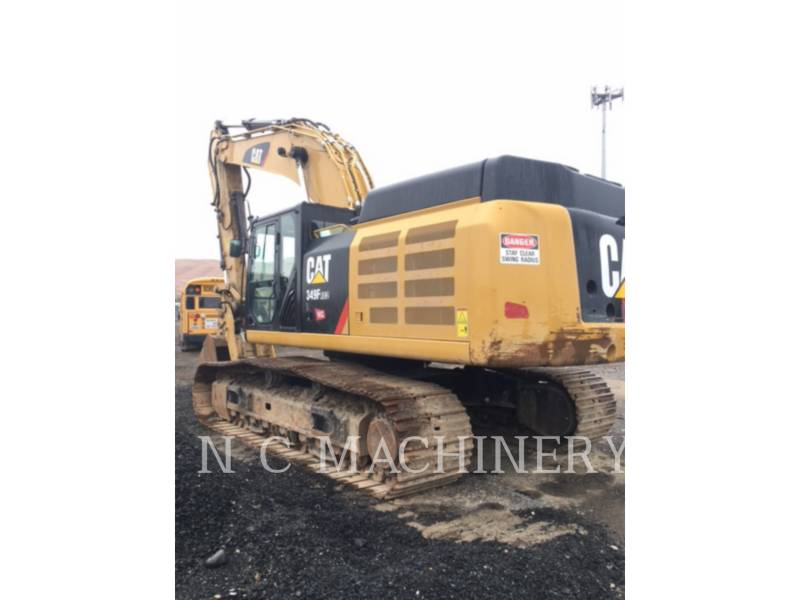 CATERPILLAR PELLES SUR CHAINES 349F L equipment  photo 2