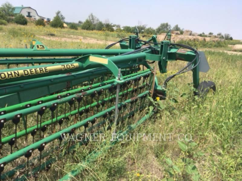 DEERE & CO. MACCHINE AGRICOLE DA FIENO 705 equipment  photo 6