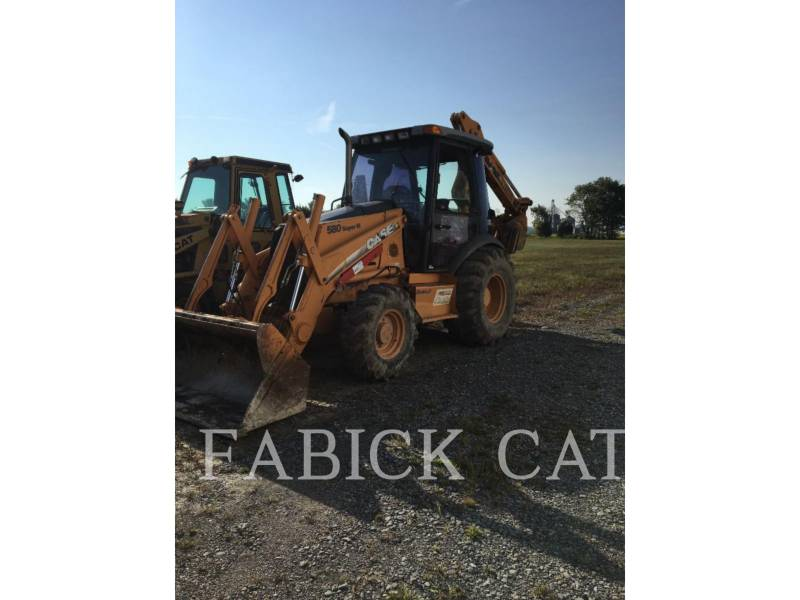 CASE/NEW HOLLAND BACKHOE LOADERS 580SM equipment  photo 2