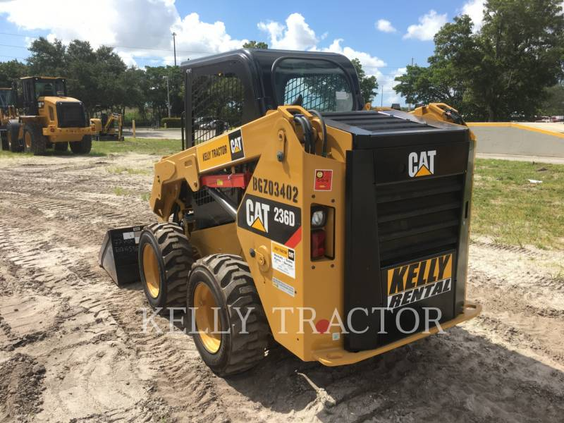 Caterpillar MINIÎNCĂRCĂTOARE RIGIDE MULTIFUNCŢIONALE 236 D equipment  photo 5