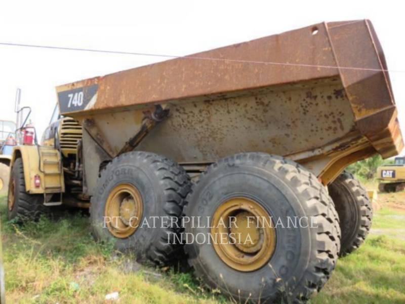 CATERPILLAR CAMIONES ARTICULADOS 740 equipment  photo 5