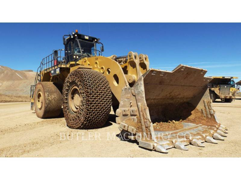 CATERPILLAR CHARGEURS SUR PNEUS MINES 993K equipment  photo 2