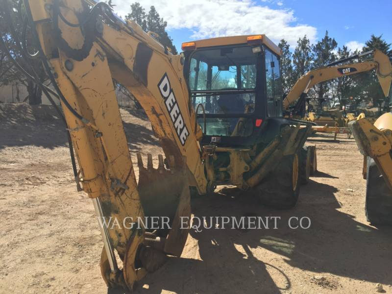 JOHN DEERE CHARGEUSES-PELLETEUSES 410E 4WD equipment  photo 4