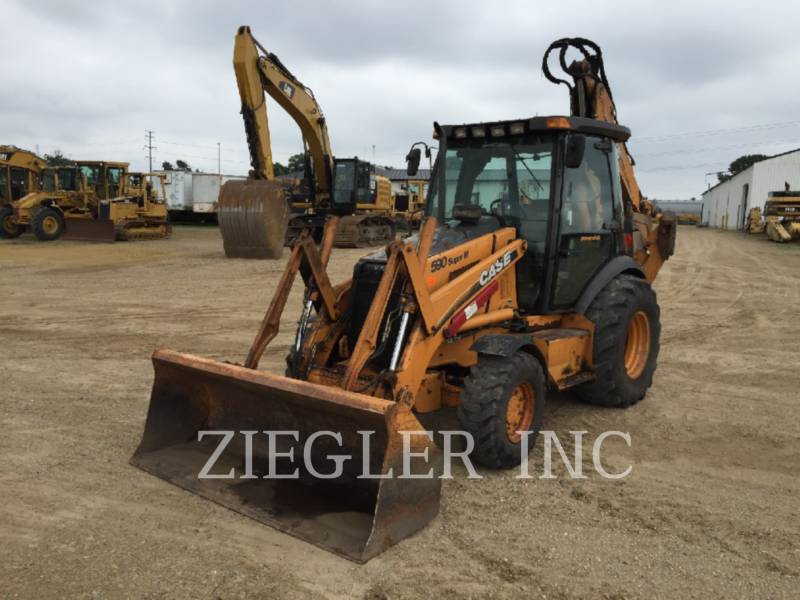 CASE/NEW HOLLAND BACKHOE LOADERS 590SUPERM equipment  photo 3
