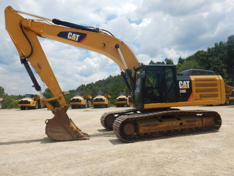 CATERPILLAR 履带式挖掘机 336 E L equipment  photo 1
