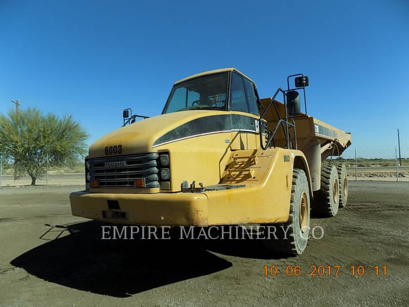 CATERPILLAR MULDENKIPPER 735 equipment  photo 1