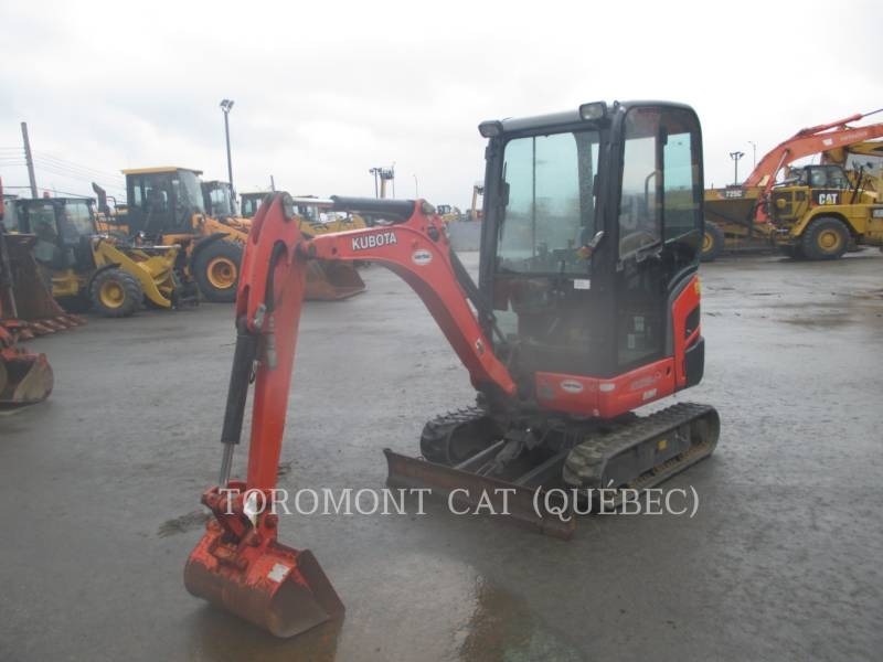 KUBOTA CANADA LTD. TRACK EXCAVATORS KX018 equipment  photo 1